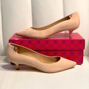 Tory Burch Elizabeth Suede Pump - New In Box!